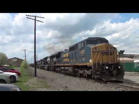 Birthday Catch: NS 15M in Struthers, OH with GECX 7380 in the Lead  5/4/2018 (видео)