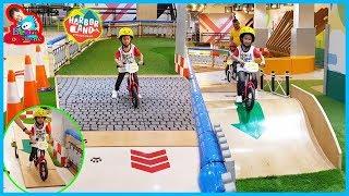 น้องบีม   Little Bike เล่นสวนสนุก ฮาร์เบอร์พัทยา