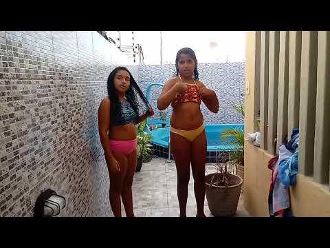Desafio da piscina parte 4 com minha amiga