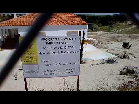 Camino de Santiago El albergue de El Carrascalejo esta Cerrado. Es una pena por que es NUEVO.