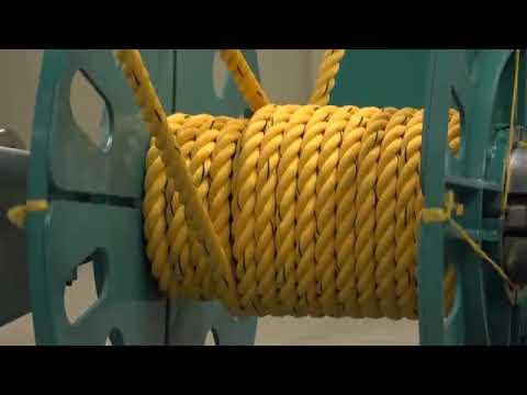 Rope Strander Machine