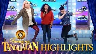 Vice Ganda at Vhong Navarro, napasayaw sa kinanta ng TNT Contestant
