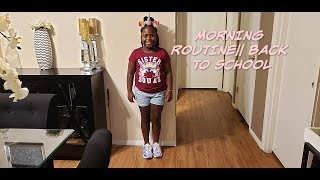 FOURTH GRADER MORNING ROUTINE|| FIRST DAY OF SCHOOL 2019