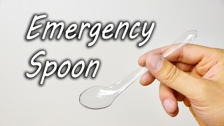 How to Make an Emergency Spoon
