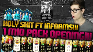 FIFA 16 PACK OPENING DEUTSCH  FIFA 16 ULTIMATE TEAM  OH SHIT 1 MIO BEST OF GRIEZMANN IF & CO