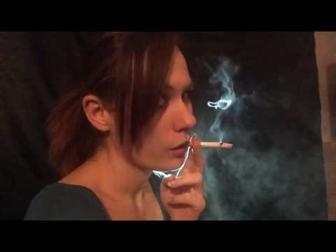 YOUNG GIRL CHAIN SMOKING 8.MP4 - YouTube