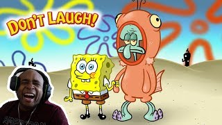 Try Not To Laugh Challenge The Best Of Spongebob SquarePants Edition #2