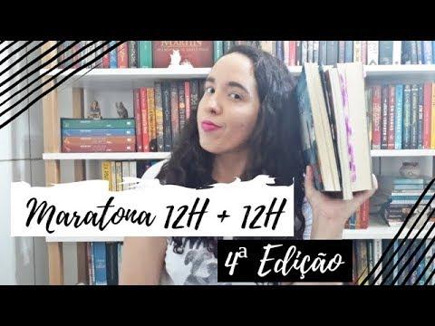 Vlog Maratona Literária 12H + 12H (4ª Edição) | Um Livro e Só