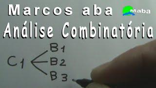 ANÁLISE COMBINATÓRIA -   Princípio Fundamental da Contagem (Princípios multiplicativo e aditivo