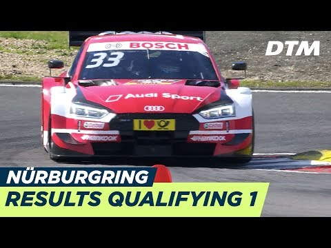 Results & Highlights Qualifying 1 - DTM Nürburgring 2018