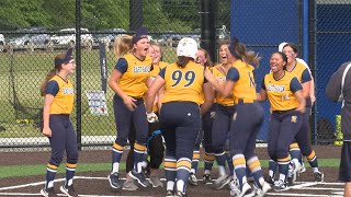 Highlights: East Haven 1, Waterford 0 in Class L softball quarters