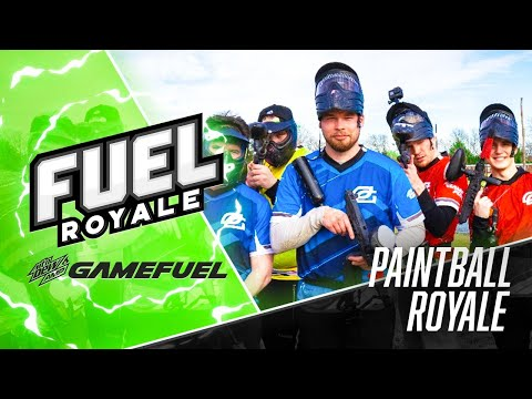 FUEL ROYALE: EP. 1 - PAINTBALL ROYALE | Presented By MTN DEW® AMP® GAME FUEL®