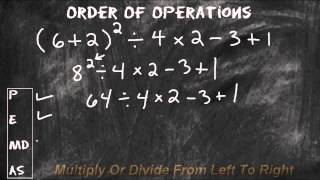Solve Math Expressions Using The Order Of Operations