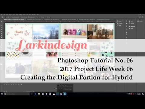 Photoshop Tutorial No. 06 | Creating the Digital Layout