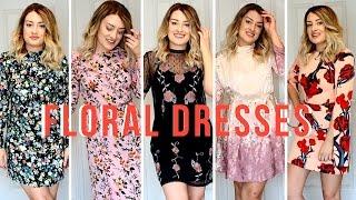 TREND : FLORAL DRESSES | MY TOP 5 | LaurenMThwaites