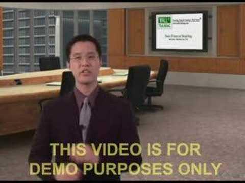 Wall St. Training Self Study - Instructor Hamilton Lin - YouTube