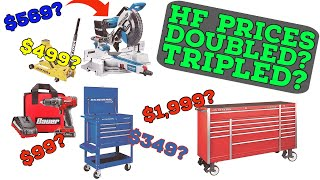 What is Going On with Harbor Freight Pricing?!?!?