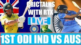Live: IND Vs AUS 1st ODI   Live Scores and Hindi Commentary   India vs Australia Live