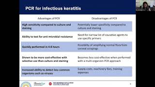 Lecture: Update On The Medical Treatment Of Infectious Keratitis