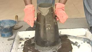 TEST FOR WORKABILITY OF CONCRETE - SLUMP CONE