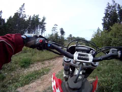 Husqvarna TE 250 GoPro trail ride (3)