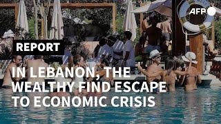 Life At The Top: Lebanon Mountain Club Dodges Economic Crisis | AFP