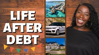HOW LIFE HAS CHANGED SINCE BECOMING DEBT FREE | LIFE AFTER DEBT  (VLOGMAS DAY 10)