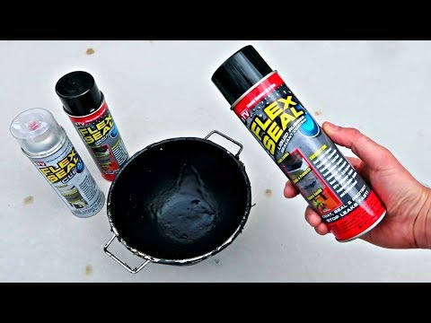 Testing Flex Seal – As Seen On TV