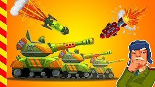 Мультики про войну для детей. Мультики про танки и боевые сражения. Танки анимация для детей.