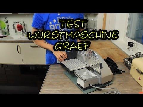 Test Wurstmaschine Graef Master M9 Allesschneider