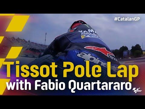 ファビオが5連続ポールポジション!MotoGP 2021 カタルニアGP ポールラップのオンボード映像