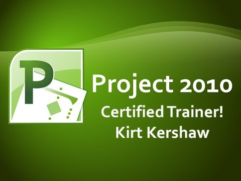 Project 2010 Tutorial for Beginners - How To Use Project Part 1 ...