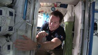 Ready for bed ESA astronaut Thomas Pesquet takes you on a tour