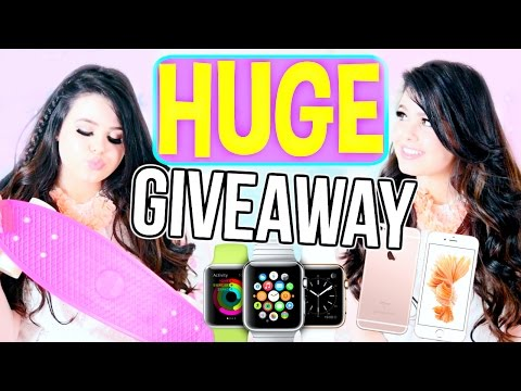 HUGE Spring/Summer Giveaway 2016! iPhone 6s, Apple Watch, Penny Board!