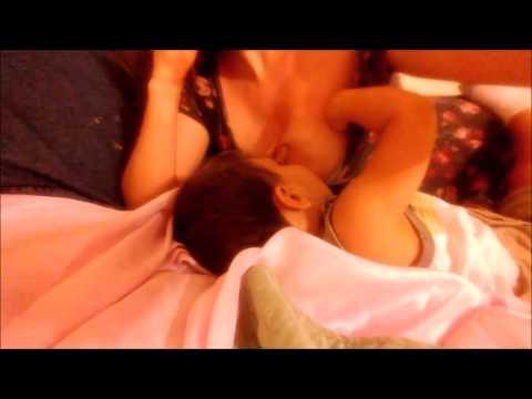 [Health Breastfeeding]Breastfeeding before sleeping