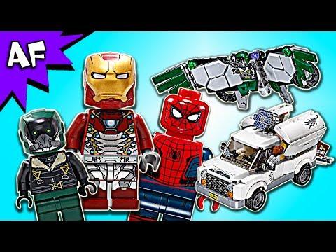 Vidéo LEGO Marvel Super Heroes 76083 : L'attaque aérienne de Vautour