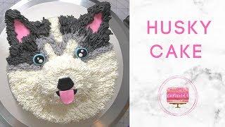 How To Make A Husky Cake