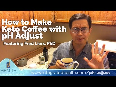 How to Make Keto Coffee with pH Adjust – Alkalinizing Coffee