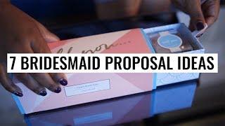 7 Bridesmaid Proposal Ideas Sure to Impress