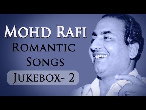 Mohd Rafi Romantic Songs (HD) | VIDEO JUKEBOX  2 | Mohammed Rafi Evergreen Hindi Hits