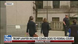 Fox News reports on Hannity being Michael Cohen