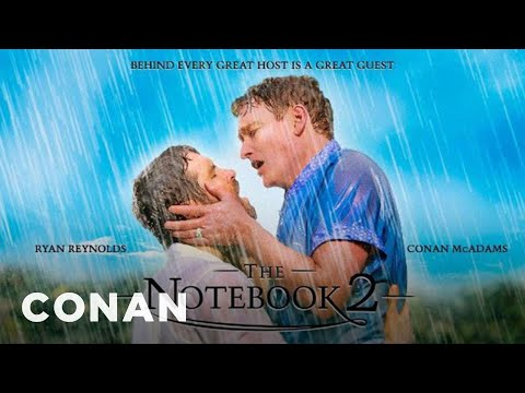 ryan reynolds conan o 39 brien spoof 39 the notebook 39 kiss. Black Bedroom Furniture Sets. Home Design Ideas