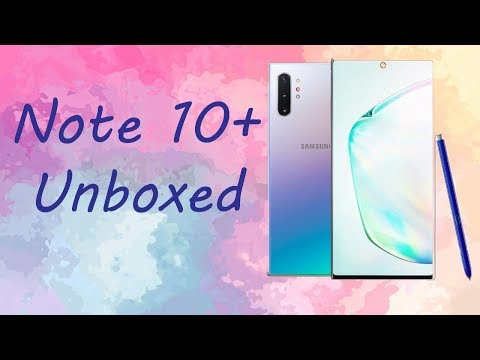 GALAXY NOTE 10+ UNBOXED || SPECS AND DETAILS