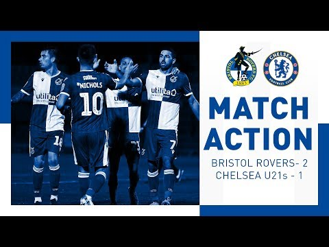 Match Action: Bristol Rovers 2-1 Chelsea's U21s
