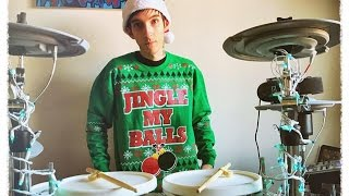 Halestorm - Mistress For Christmas (AC/DC) Drum Cover HD