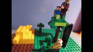 Lego Minecraft Island