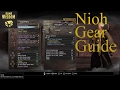 How to Make the Best Gear in Nioh