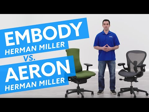 Herman Miller Aeron vs Embody Chair: Which Ergonomic Chair is Best For Me?