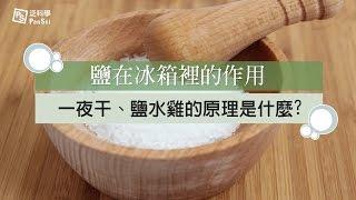 鹽在冰箱裡的作用: 一夜干、鹽水雞的原理是什麼|科學大爆炸2-EP.24