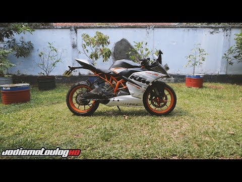Testride KTM RC 250 2017 Indonesia